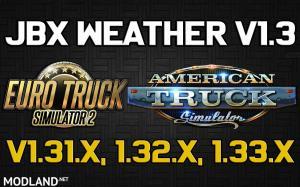 JBX Weather for ATS - ETS2 v1.3, 1 photo