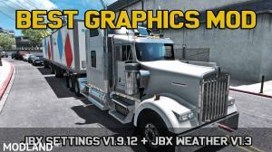 JBX Weather for ATS - ETS2 v1.3, 2 photo