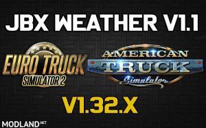 JBX Weather for ATS - ETS2 v1.1, 1 photo