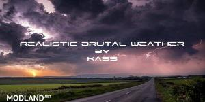 [ATS] Realistic Brutal Weather V1.4.1 1.36, 3 photo