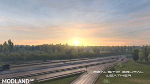 Realistic Brutal Weather V2.0.1 ATS [1.37], 3 photo