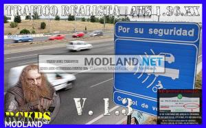 Realistic traffic 1.3 for ATS 1.36 by Rockeropasiempre, 1 photo