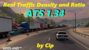 ATS Real Traffic Density and Ratio v1.34.b by Cip