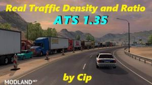 Real Traffic Density and Ratio ATS 1.35.c, 1 photo