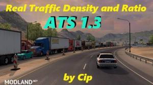 ATS Real Traffic Density and Ratio v1.36.c  1.36, 1 photo