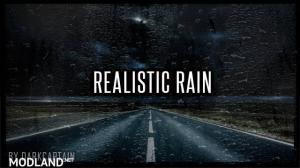 Realistic Rain v3.2 ATS 1.36, 1 photo