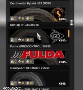 Real Tires Mod v 1.0