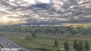 Realistic Brutal Weather V2.5 ATS (1.38)