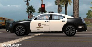 AI Police Dodge Charger, 2 photo