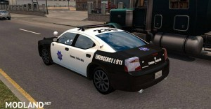 AI Police Dodge Charger, 1 photo