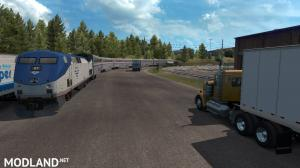 Trains Everywhere (road nightmare) addon for Real Traffic Density And Ratio 1.35 by Cip, 1 photo