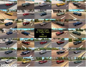 Classic Cars AI Traffic Pack by Jazzycat v 2.8