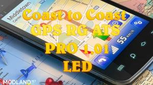 GPS RG ATS PRO 1,01 Led Coast to Coast, 1 photo