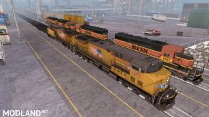 Improved Trains v 3.0 for ATS 1.35.x, 1 photo