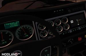 Green Dashboard For Kenwort W900 Truck, 1 photo