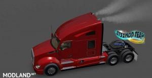 Kenworth T680 with smoke & AI Traffic