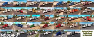 Painted Truck and Trailers Traffic Pack by Jazzycat v 1.3, 1 photo