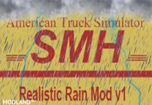 Realistic 3D ASMR Rain Fog Thunder v 1.0, 1 photo