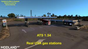 REAL USA GAS STATIONS 1.34, 2 photo