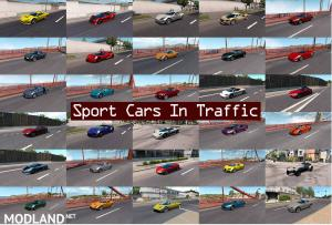Sport Cars Traffic Pack (ATS) by TrafficManiac v 3.0
