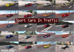 Sport Cars Traffic Pack (ATS) by TrafficManiac v2.0