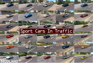 Sport Cars Traffic Pack (ATS) by TrafficManiac v 2.9, 1 photo