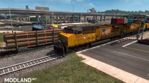 "Long Trains Addon(up to 150 cars), for mod ""Improved Trains v3.2"" [0.17], 1 photo"