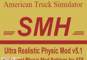 Ultra Realistic Physic Mod v 5.1, 1 photo