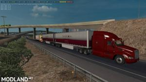 Double and Triple Trailers in Traffic ATS 1.34.x, 1 photo