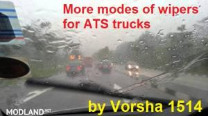 More modes of wipers for trucks v 2.0