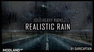 Realistic Rain v2.4 ATS 1.34, 1.35, 1 photo