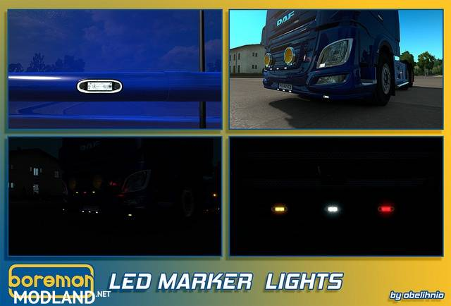 [ATS/ETS] Boreman LED Marker Lights