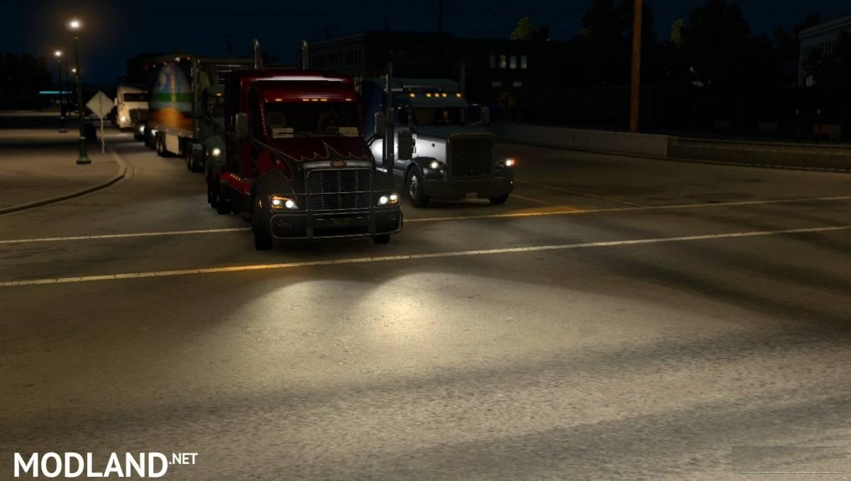 Improved Vehicle Lights: Alternative Version
