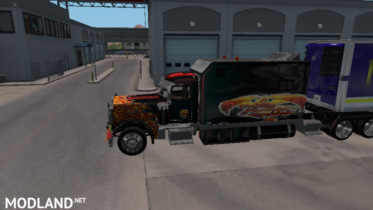 Long Sleeper for SCS Peterbilt 389