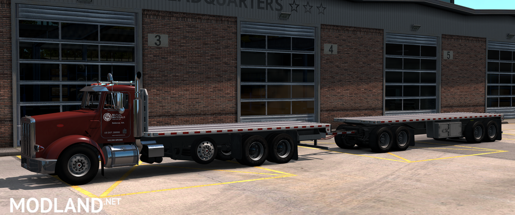 Heavy Truck and Trailer Add-on Mod v1.9 for Project 3XX