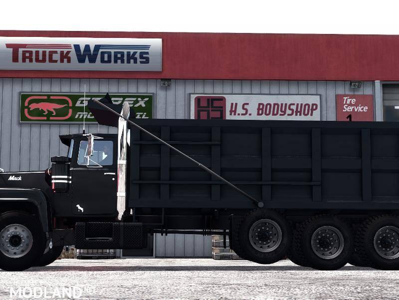 Custom Mack R Dump Truck/Flatbed Addon