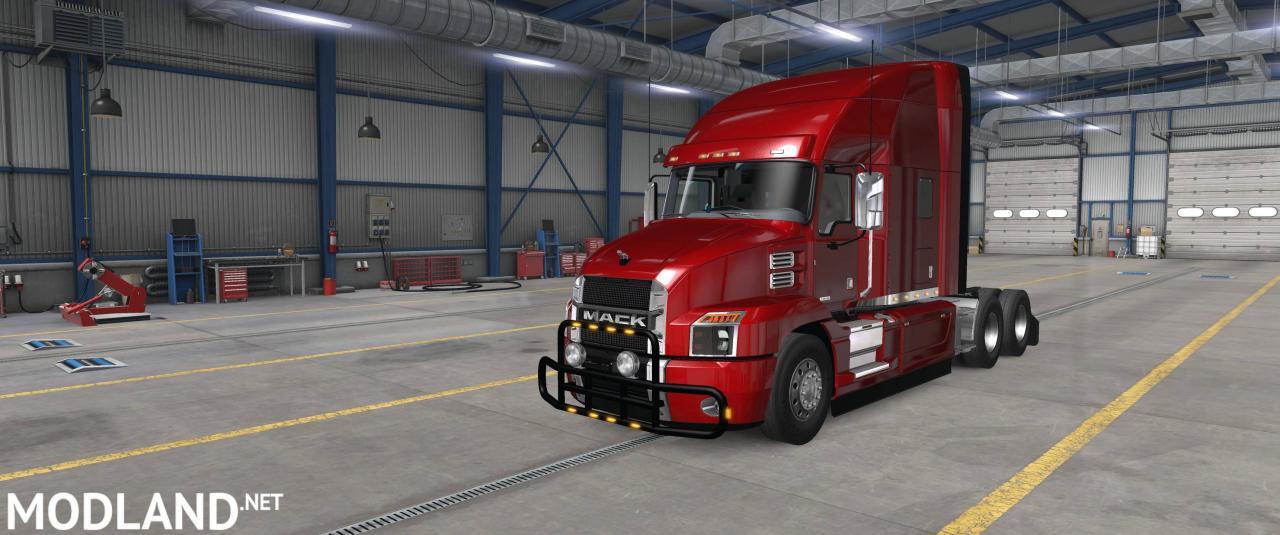 Bullbars for SCS Mack Anthem v1.0 1.37 +
