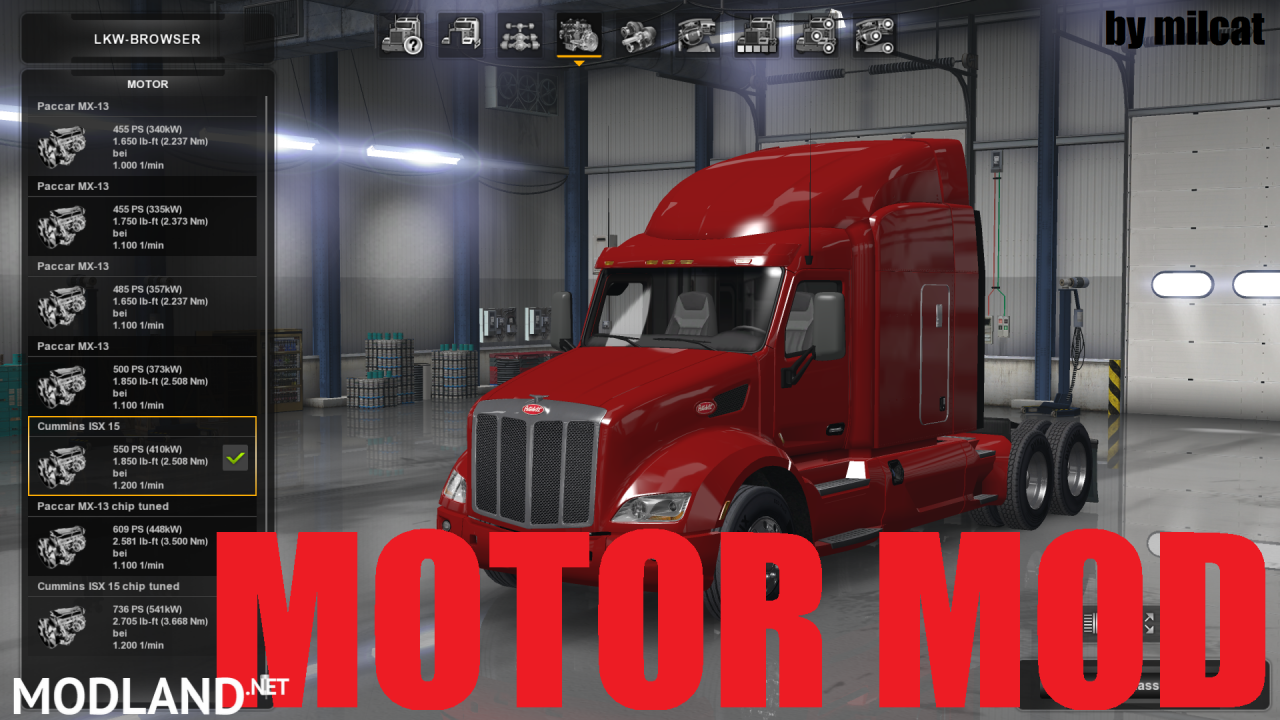 Motor Mod v 1.0 by milcat
