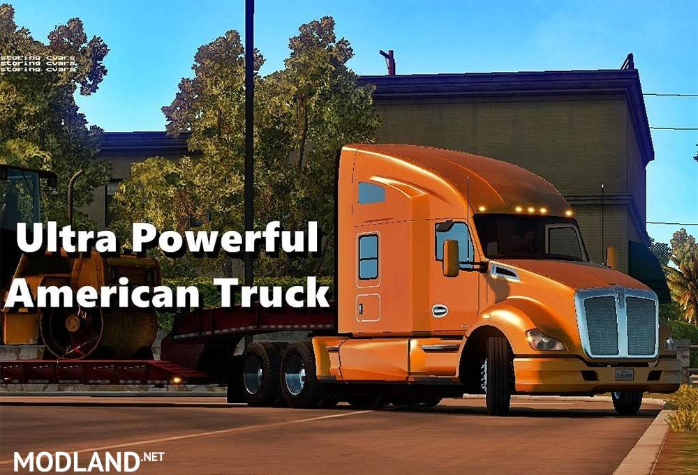 Ultra Powerful American Truck