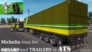 Michelin tires for Trucks and Trailers in ATS 1.32.x, 1 photo