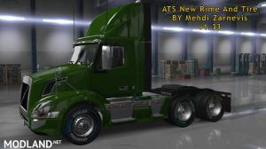 ATS 1.33 new RIM & TIRE V1.0.2 By Mehdi Zarnevis