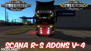 Scania R-S Adons v4 for ATS