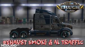 Exhaust Smoke & Ai Traffic 1.36, 3 photo