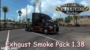 Exhaust Smoke for ATS  1.38, 2 photo
