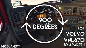 900 Degrees Wheel Anim for VNL670(Aradeth) (ATS-ETS2), 1 photo