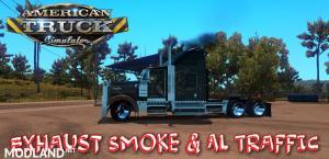 Exhaust Smoke & Ai Traffic 1.36, 1 photo