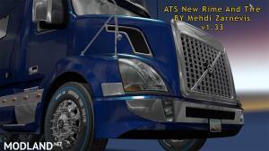 ATS 1.33 new RIM & TIRE V1.0.2 By Mehdi Zarnevis, 3 photo