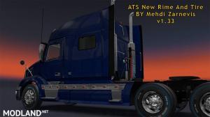 ATS 1.33 new RIM & TIRE V1.0.2 By Mehdi Zarnevis, 4 photo
