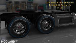 ATS 1.33 new RIM & TIRE V1.0.2 By Mehdi Zarnevis, 5 photo