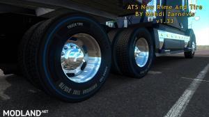 ATS 1.33 new RIM & TIRE V1.0.2 By Mehdi Zarnevis, 6 photo